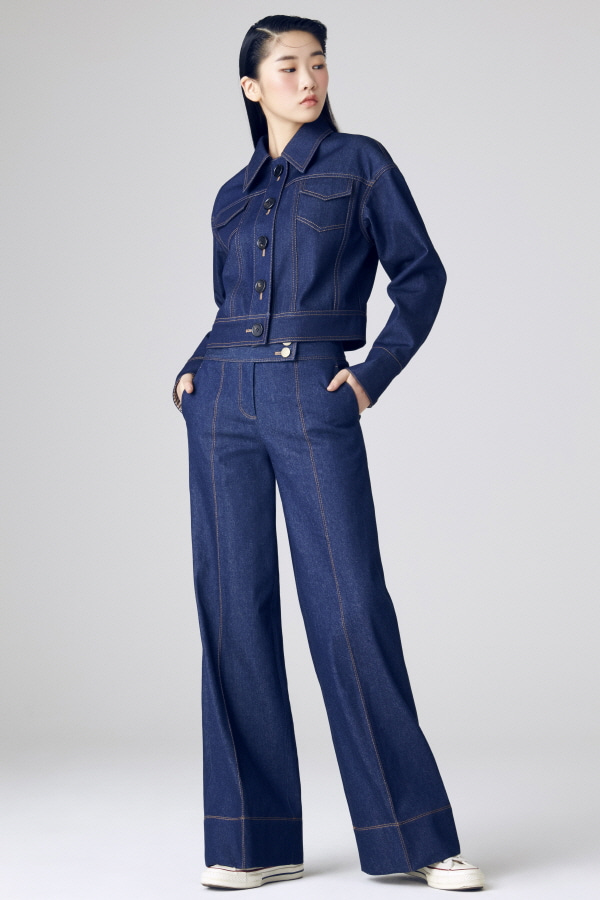 MJ WIDE ANKLE PANTS