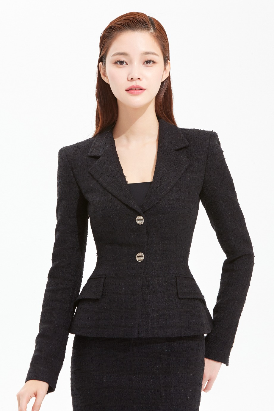 TWEED TAILORED JACKET