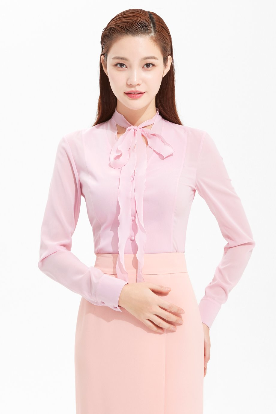 SILK RIBBON BLOUSE