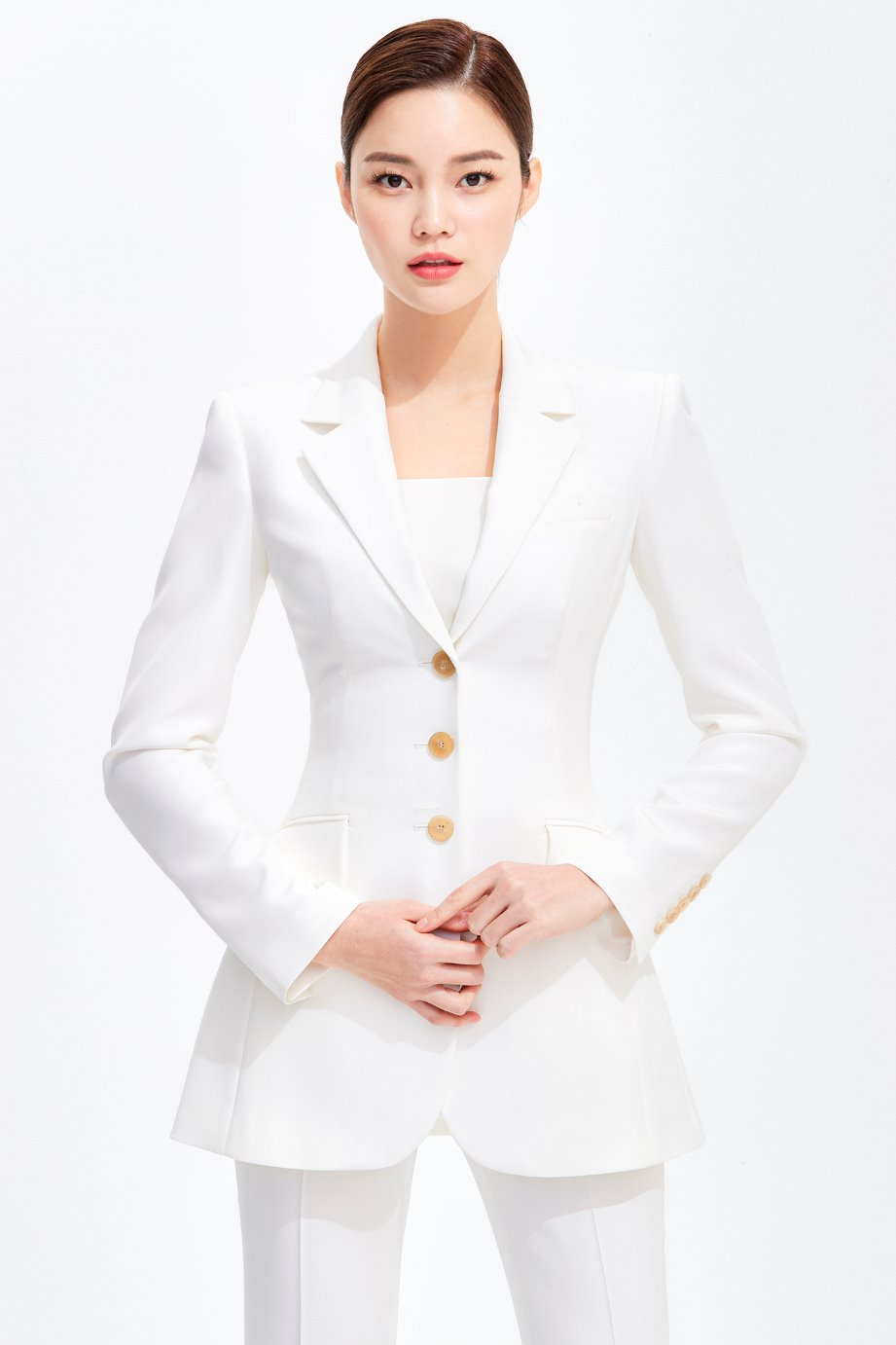 SILK SLIM LINE SINGLE TAILORED JACKET